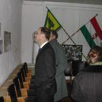 Dr. Navracsics Tibor miniszterelnök-helyettes a Salföldi archívum fotó kiállításán. (Fotó: Somogyi Márk)